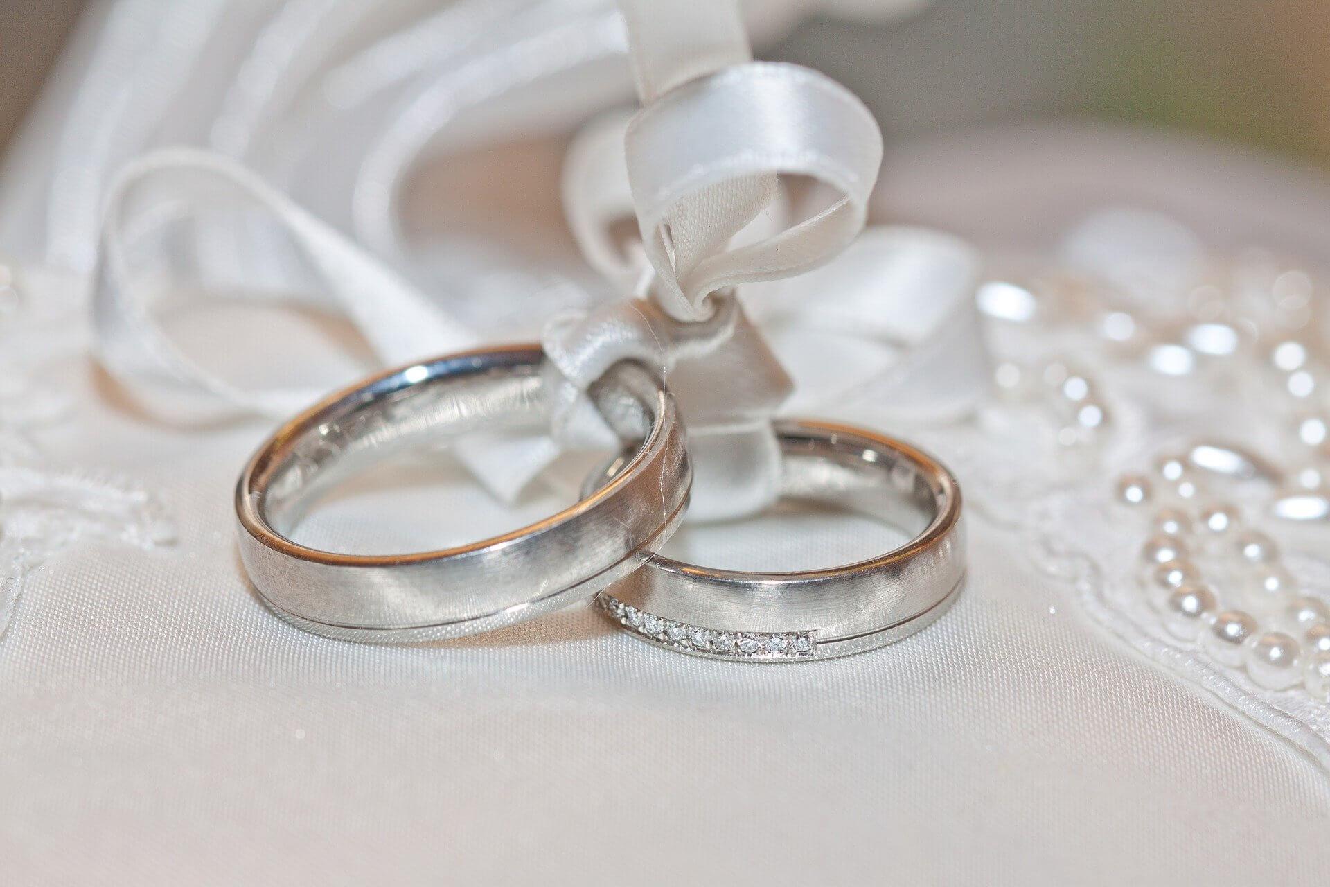 幸せな結婚をする